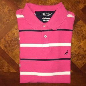 Men's Nautica Performance Deck Shirt. Like new.